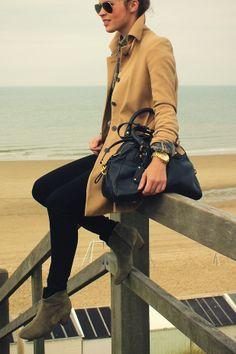 여자가을패션★트렌치코트코디/알렉사청트렌치코트 : 네이버 블로그