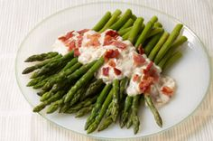 Bacon & Caramelized-Onion Asparagus recipe