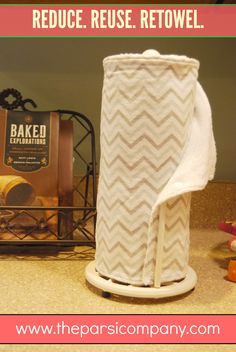 """Reusable """"paper"""" towels...set of 6 for $25, by a teen entrepreneur! #frugal #ecofriendly"""