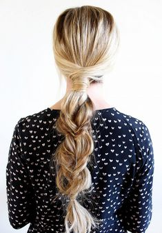 Rapunzel Braid  Full disclosure: You will need a lot of hair to attempt this one.