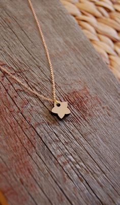 Christmas Holiday Wooden Star Necklace by storyofthedoor on Etsy