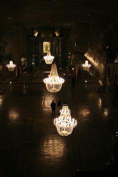 Wieliczka Salt Mine - Chapel of Saint Kinga by EnglishGirlAbroad, via Flickr