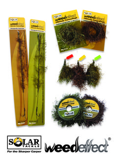 Solar Tackle, Weedeffect packaging and logo