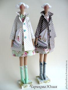 Куклы Тильды ручной работы. Ярмарка Мастеров - ручная работа Курортницы. Handmade.