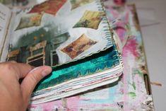 Broderie autour des pages
