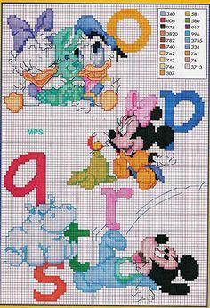 alfabeto baby disney topolino minnie (3)