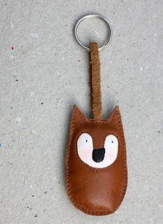 Schlüsselanhänger kleiner Fuchs von ADAMS-BRAUT