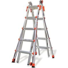 Little Giant Ladder Systems Velocity Type 1A Model 22 Ladder, Multicolor