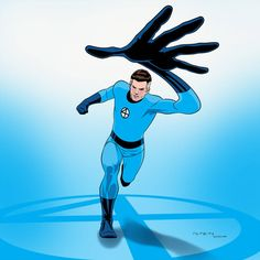 Fantastic 1966 (Reed Richards) by arunion on DeviantArt Marvel Lee, Marvel Comics, Marvel Comic Universe, Marvel Heroes, Marvel Comic Character, Comic Book Characters, Marvel Characters, Comic Books, Fantastic Four