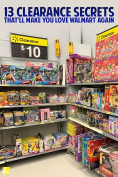 13 Clearance Secrets That'll Make You Love Walmart Again - When's the best time to find clearance, and how do you know if it's worth it? I did some digging so you can know you're getting the best deal when you shop Walmart clearance. Walmart Sales, Walmart Clearance, Walmart Shopping, Shop Walmart, Frugal Living Tips, Frugal Tips, Frugal Family, Dollar General Penny Items, Extreme Couponing