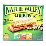 #Nature #Valley #Crunchy Granola Bars (#Apple Crunch, #Oats 'n Honey, Roasted Almonds), 252 gm Carton  http://www.dwarkakirana.com/