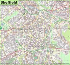Detailed map of York Maps Pinterest City