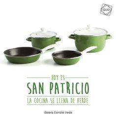 ¡Hoy es San Patricio! Y vamos pintar de verde...hasta la cocina!!
