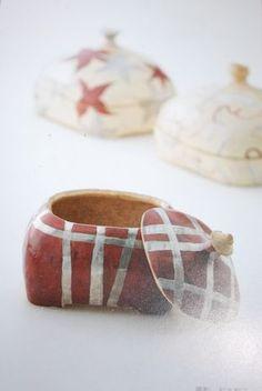 松本伴宏 : hiori ~日織り~ love these little containers............ exquisite