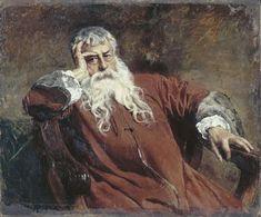 MEISSONIER, Jean-Louis-Ernest  French Academic (1815-1891)_Self-portrait, 1889