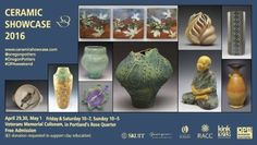 oregon potters association ceramics showcase. 2016 was end of april/beg of may