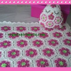 African flower hexagon baby blanket gray grey pink white crochet ready to ship… more – Artofit Crochet Afghans, Crochet Heart Blanket, Crochet Motifs, Crochet Squares, Crochet Stitches, Hexagon Crochet, Plaid Crochet, Crochet Diy, Crochet Cushion Cover