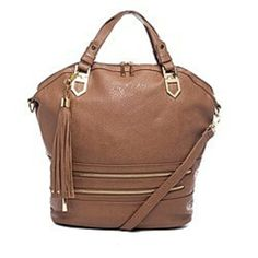 (16) Libby Satchel in Tan by Elise Hope from Elise Hope