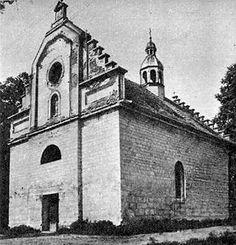 Костел Святого Валентина в Раковці, фото початок ХХ століття