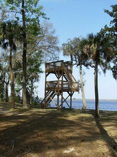 Ogeechee River Lookout Tower in fort McAllister, GA. Gorgeous view and even better price... I'm getting married here :)
