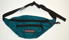 Jansport Green Fanny Pack Waist Sack Camping Hiking | eBay