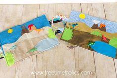 Free Time Frolics: Dinosaur Quiet Time Playmat
