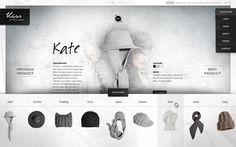 Website / Kiss by Fiona Bennett by Rene Bieder, via Behance   http://www.fromupnorth.com/web-design-inspiration-243/