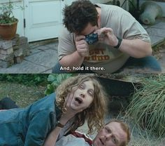 Shaun of the Dead because we can't get enough Brit comedy :)