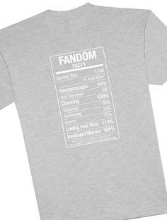 Fandom Fact Tee