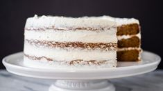 A warming spice-laden layer cake with plenty of rich buttercream and a hint of orange.