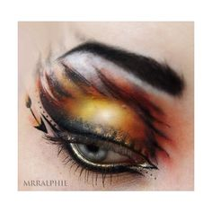 Hunger Games makeup ❤ liked on Polyvore