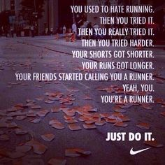 popular fitblr fitspo motivation inspiration run inspirational nike fit just do it fitness inspirational quotes fitspiration motivate runblr fit motivation Citation Motivation Sport, Fitness Motivation, Daily Motivation, Fitness Quotes, Marathon Running Motivation, Runners Motivation, Fitness Humor, Motivation Quotes, Running Workouts
