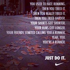 you're a runner