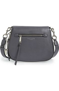 MARC JACOBS Recruit Nomad Pebbled Leather Crossbody Bag available at #Nordstrom