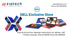 Shop and buy Dell laptops from Ziptech,Alwarpet .Huge varieties with various configurations available.Call us and know more details @ 044-48515606