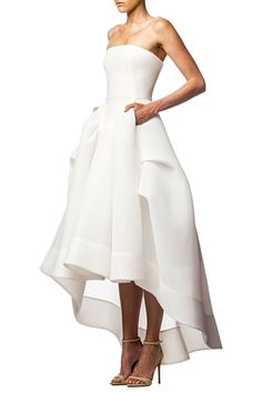 Thorax Gown w/ Wrap. Maticevski