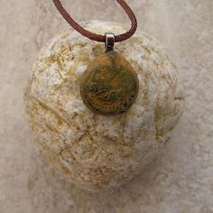 Roman Coin Made Into A Necklace 100 AD to 300 AD Cyprus