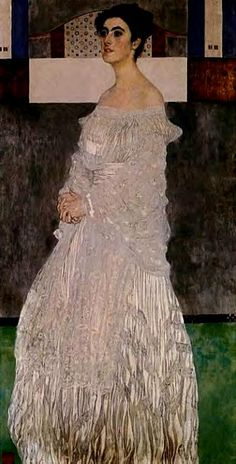 Bildnis der Margaret Stonborough-Wittgenstein Portrait of Margaret Stonborough-Wittgenstein by Artist Gustav Klimt Gustav Klimt, Art Klimt, Art Nouveau, Famous Artists, Great Artists, Franz Josef I, Baumgarten, Vienna Secession, Portraits