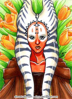 PSC - Shaak-Ti by aimo.deviantart.com on @deviantART