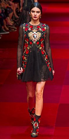 Runway Looks We Love: London, Milan, and Paris Fashion Weeks - Spring/Summer 2015 from #InStyle