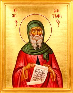 A few weeks ago I was struggling with sinful thoughts. I wasn't even able to want them to stop, I just felt they hurt my soul. And it so happened I came across an icon of Saint Anthony the Great online and uttered a slight prayer in my mind, not even a complete thought, not even on the topic that was bothering me. It felt as though a feather had cut through iron chains. Not only have I not had the thoughts since, but the entire predisposition is gone. Thank you, Saint Anthony!