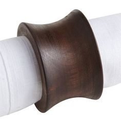 Concave Wood Napkin Ring - Kitchen And Dining Room Design Ideas