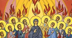 Jn 14, 15-16; 23-26 hoy es día de pentecostés