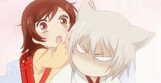 Tomoe's ears are so Kawaii Kamisama Hajimemashita