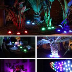 Outdoor Party Lighting, Waterproof Led Lights, Casa Patio, Garden Design Plans, Design Jardin, Led Licht, Diy Garden Projects, Party Lights, Garden Planning