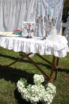 Ruffled Ironing Board Cover