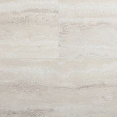 STAINMASTER 12-in x 24-in Groutable Oyster Travertine/White Peel-and-Stick Travertine Luxury Vinyl Tile