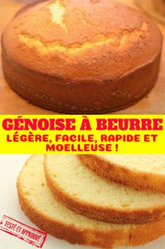 Easy and Fast Sponge Sponge Cake Easy, Sponge Cake Recipes, Easy Cake Recipes, Flourless Chocolate Cakes, Chocolate Recipes, Frog Cakes, Cupcake Cakes, Desserts With Biscuits, Cake