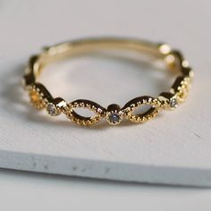 Are you interested in our stacker ring? With our gold eternity ring you need look no further.