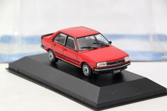Altaya 1:43 Scale Renault Fuego GTX 2.0 1984 Auto Diecast Models Limited IXO
